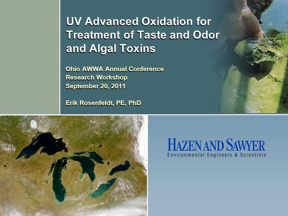 UV Advanced Oxidation for Treatment of Taste and Odor and Algal Toxins