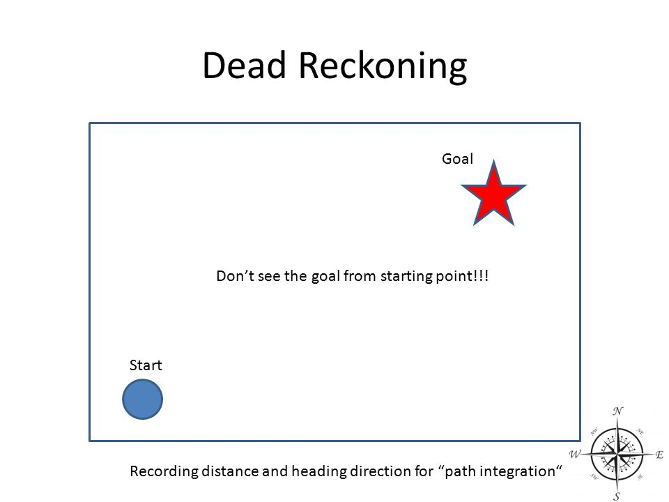 Don't see the goal from starting point!!!