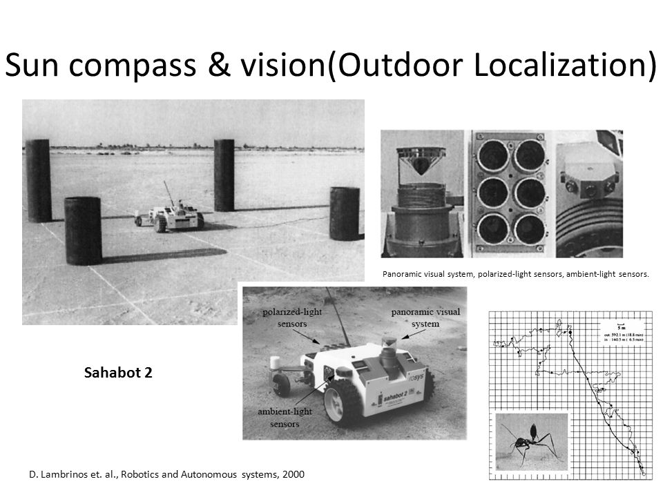 Sun compass & vision(Outdoor Localization)