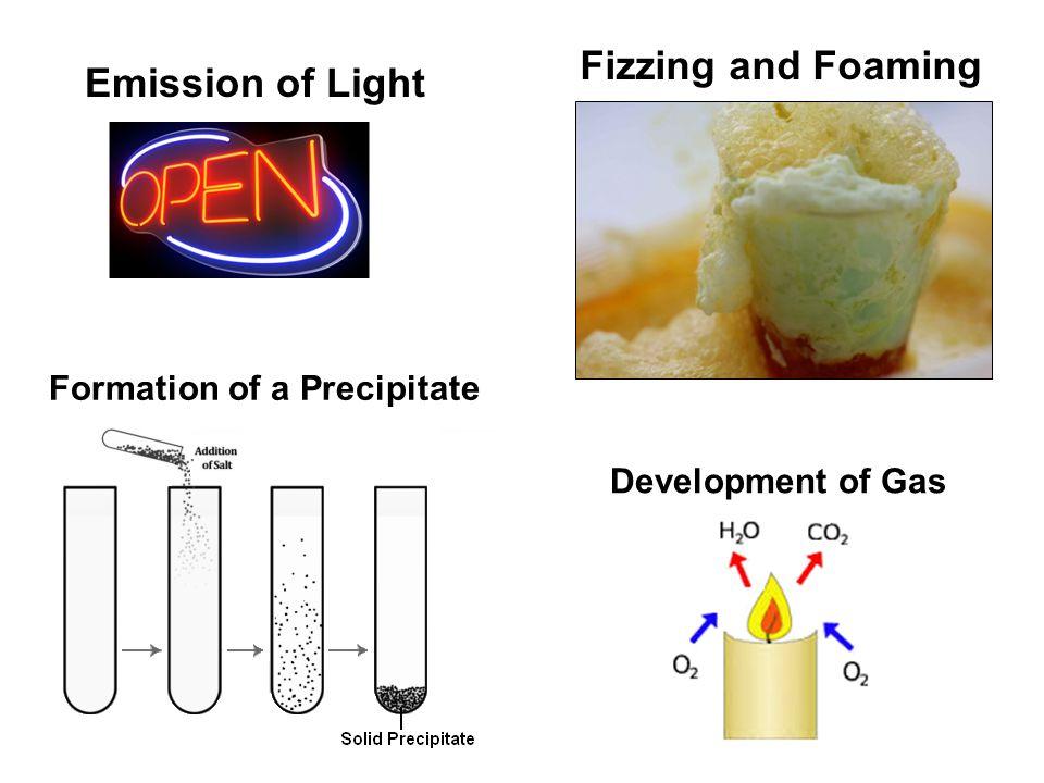 Formation of a Precipitate