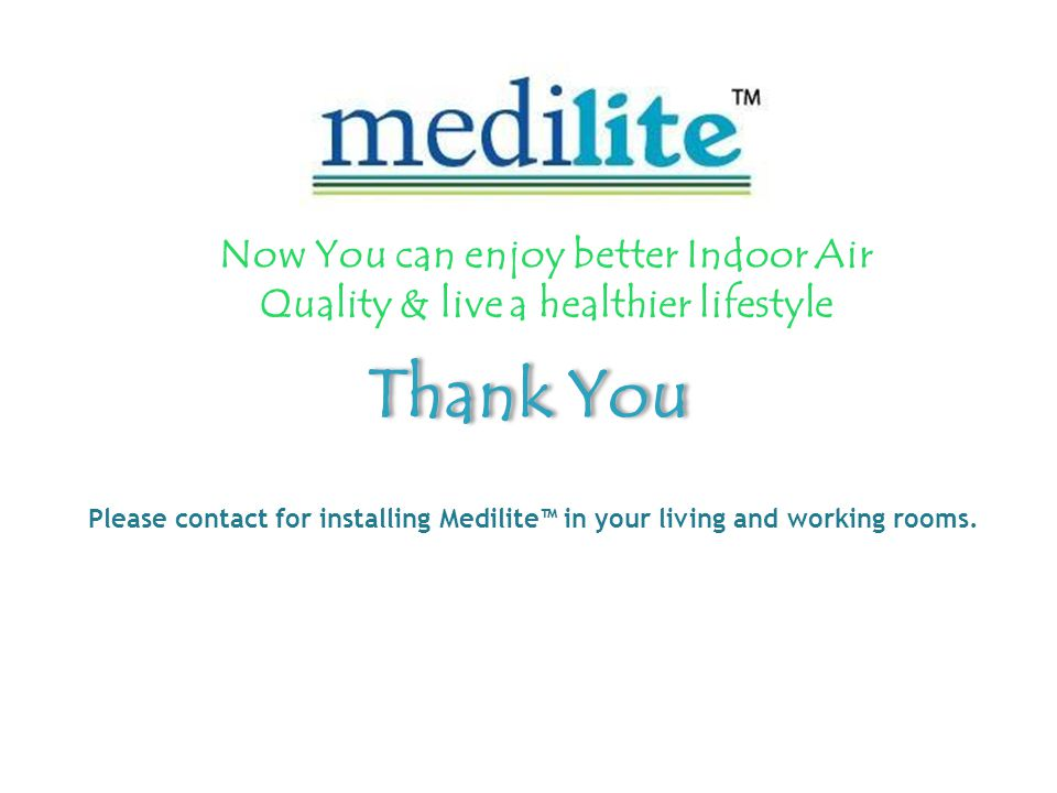 Now You can enjoy better Indoor Air Quality & live a healthier lifestyle