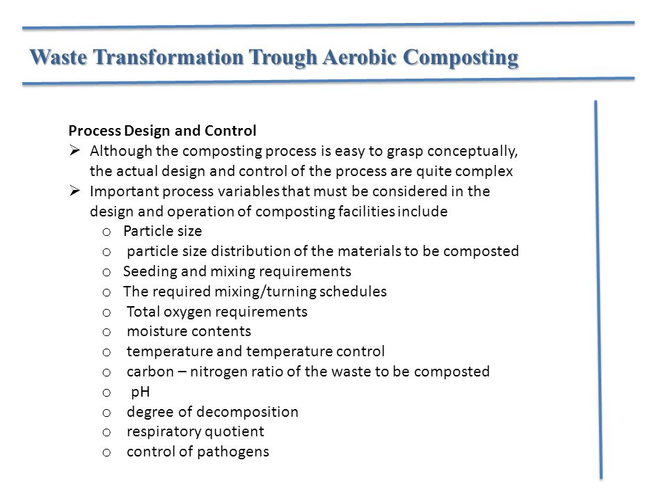 Waste Transformation Trough Aerobic Composting