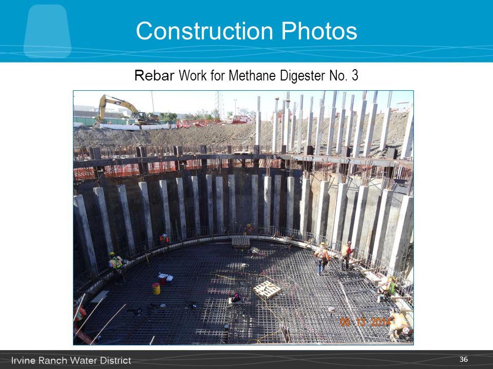 Rebar Work for Methane Digester No. 3
