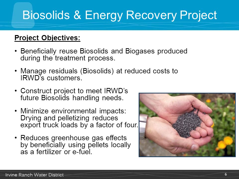 Biosolids & Energy Recovery Project