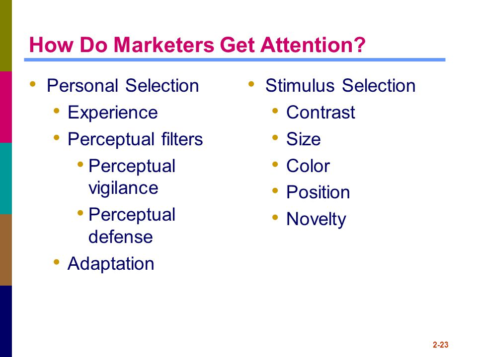 How Do Marketers Get Attention