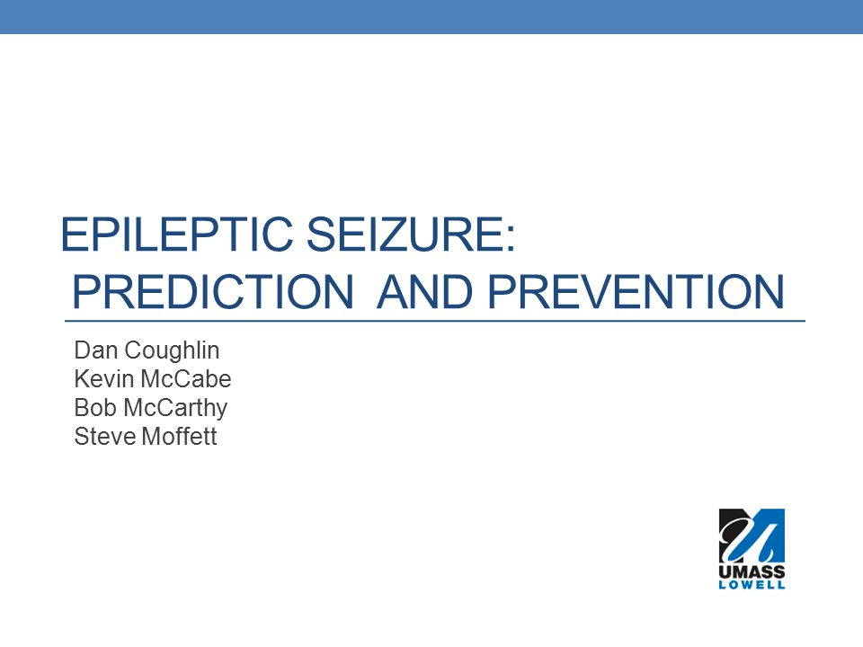 Epileptic Seizure: prediction and prevention