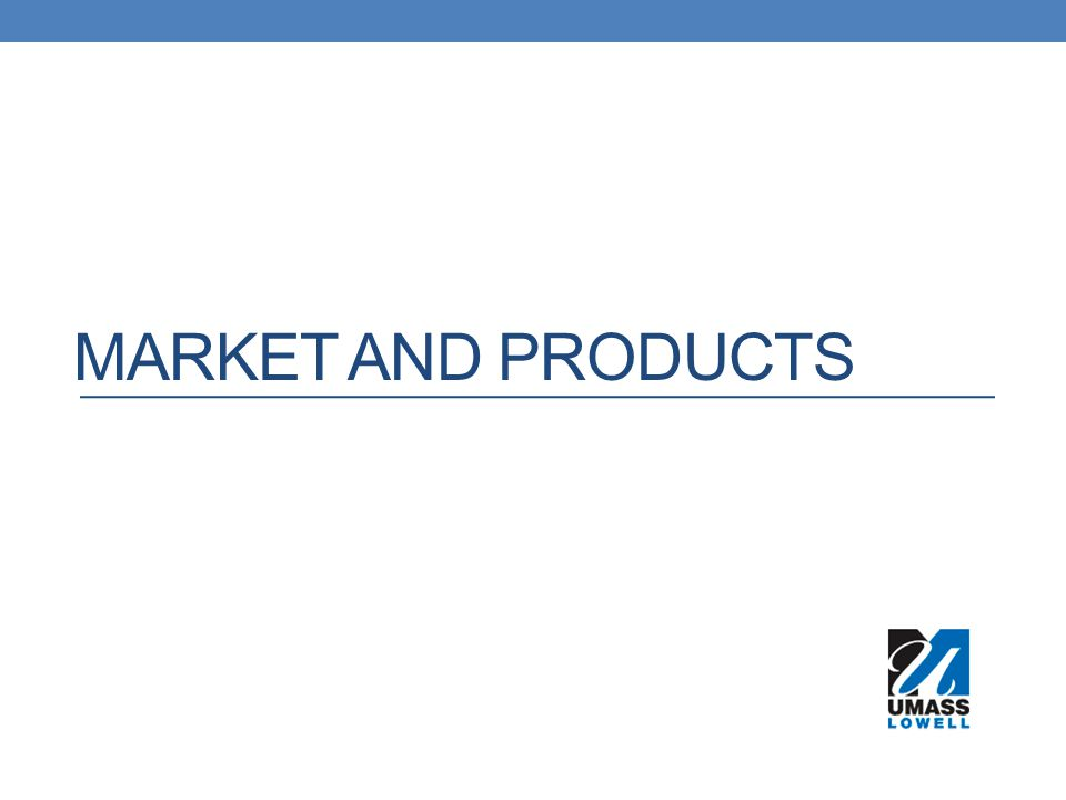 Market and Products