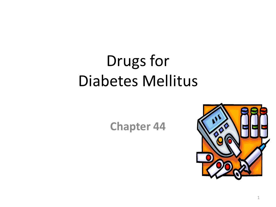Drugs for Diabetes Mellitus