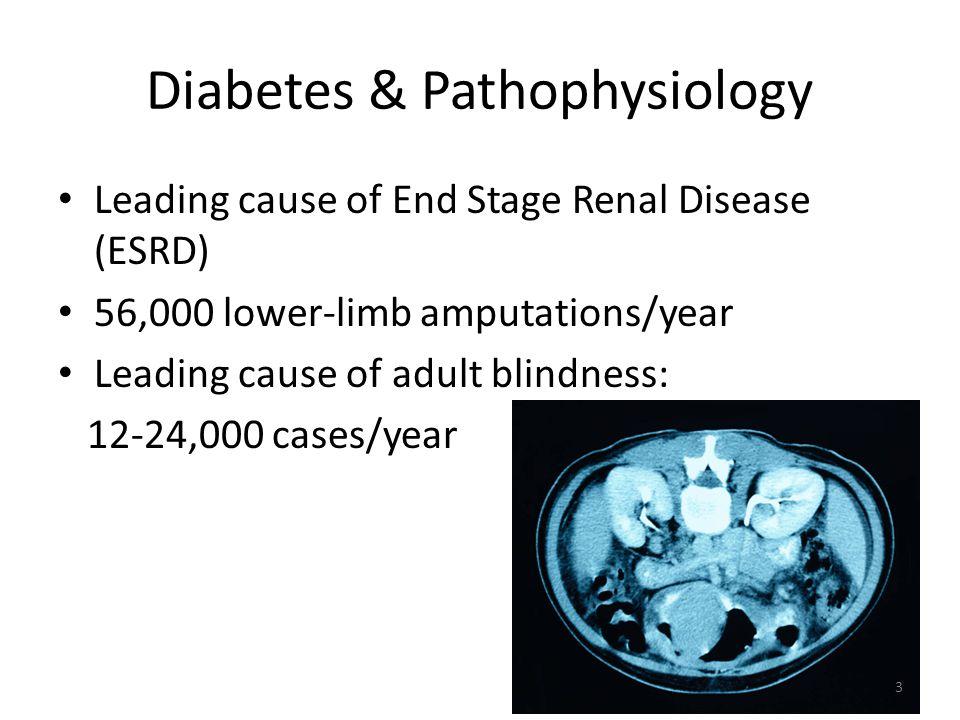 Diabetes & Pathophysiology