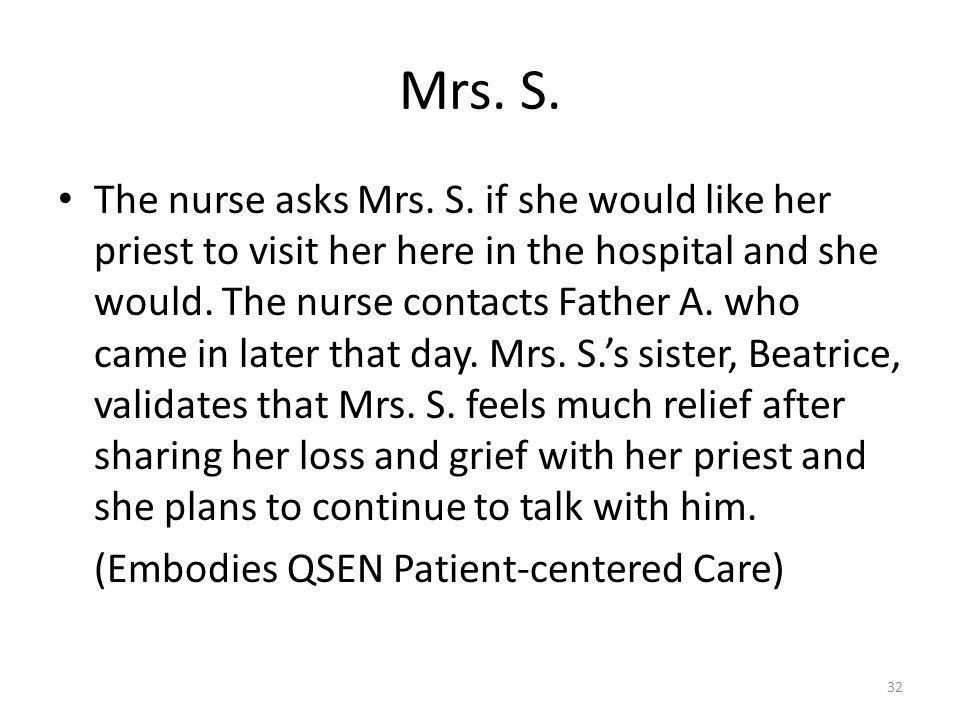 Mrs. S.