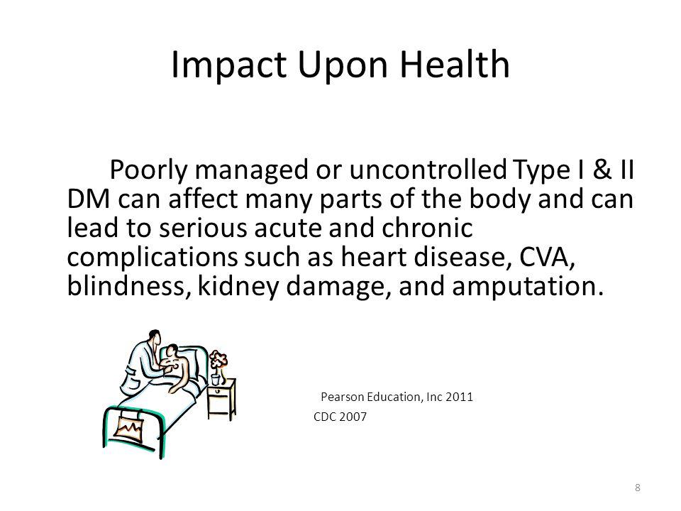Impact Upon Health Pearson Education, Inc 2011