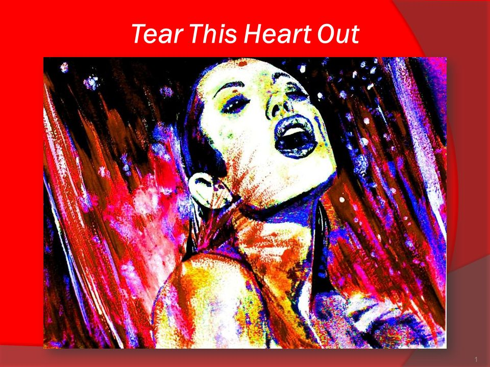 Tear This Heart Out