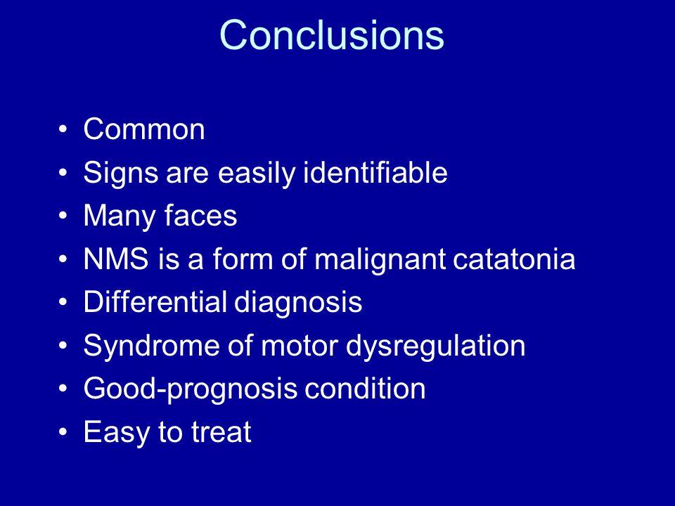 Conclusions Common Signs are easily identifiable Many faces