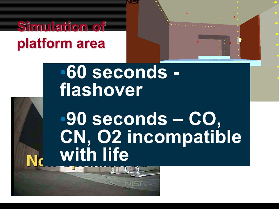 90 seconds – CO, CN, O2 incompatible with life