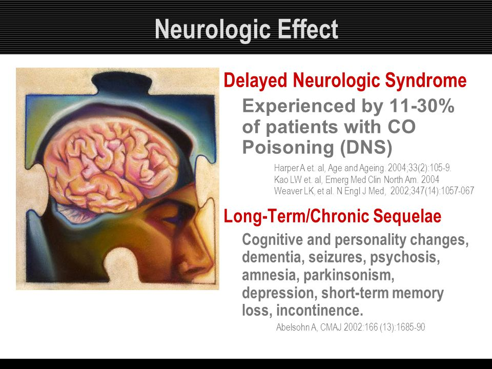 Neurologic Effect Delayed Neurologic Syndrome