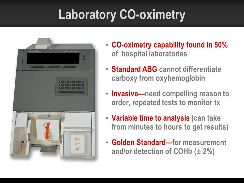 Laboratory CO-oximetry