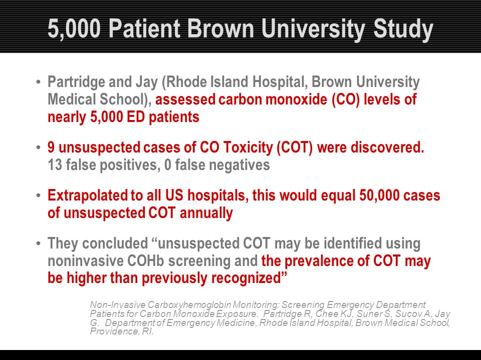 5,000 Patient Brown University Study