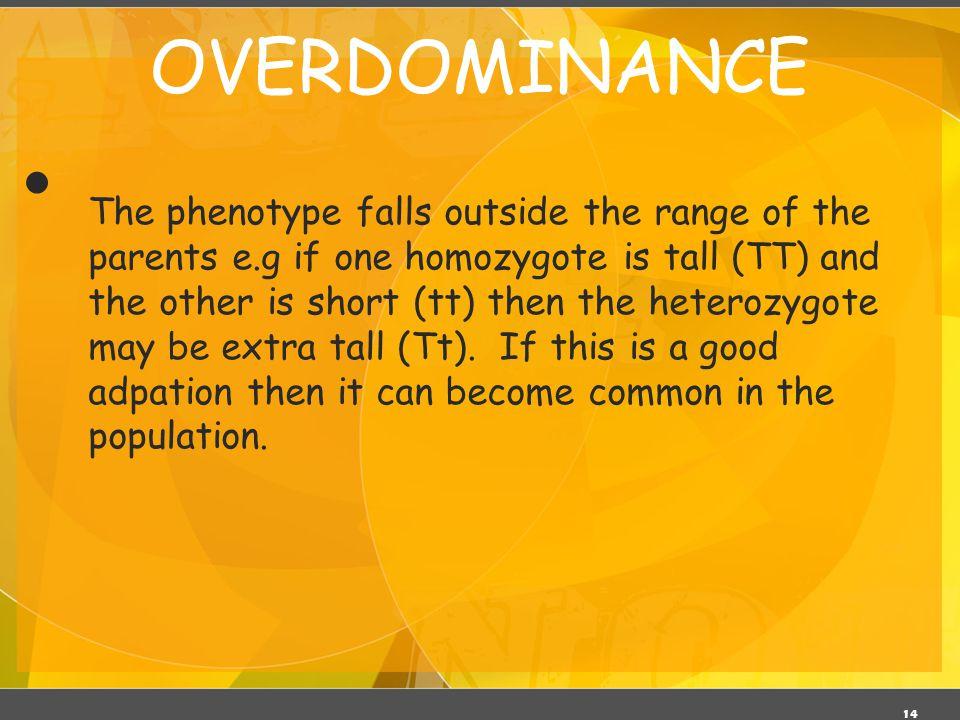 OVERDOMINANCE 03/06/11.