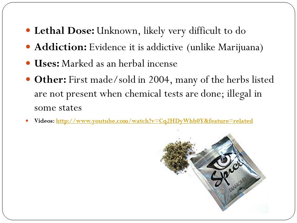 Lethal Dose: Unknown, likely very difficult to do