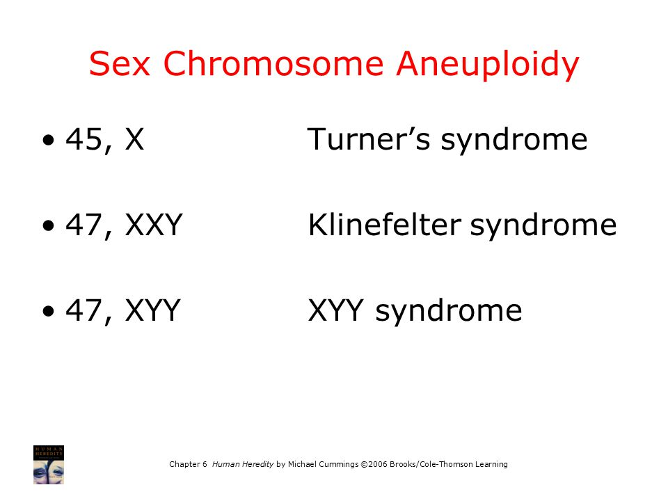 Sex Chromosome Aneuploidy