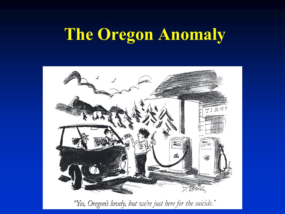 The Oregon Anomaly