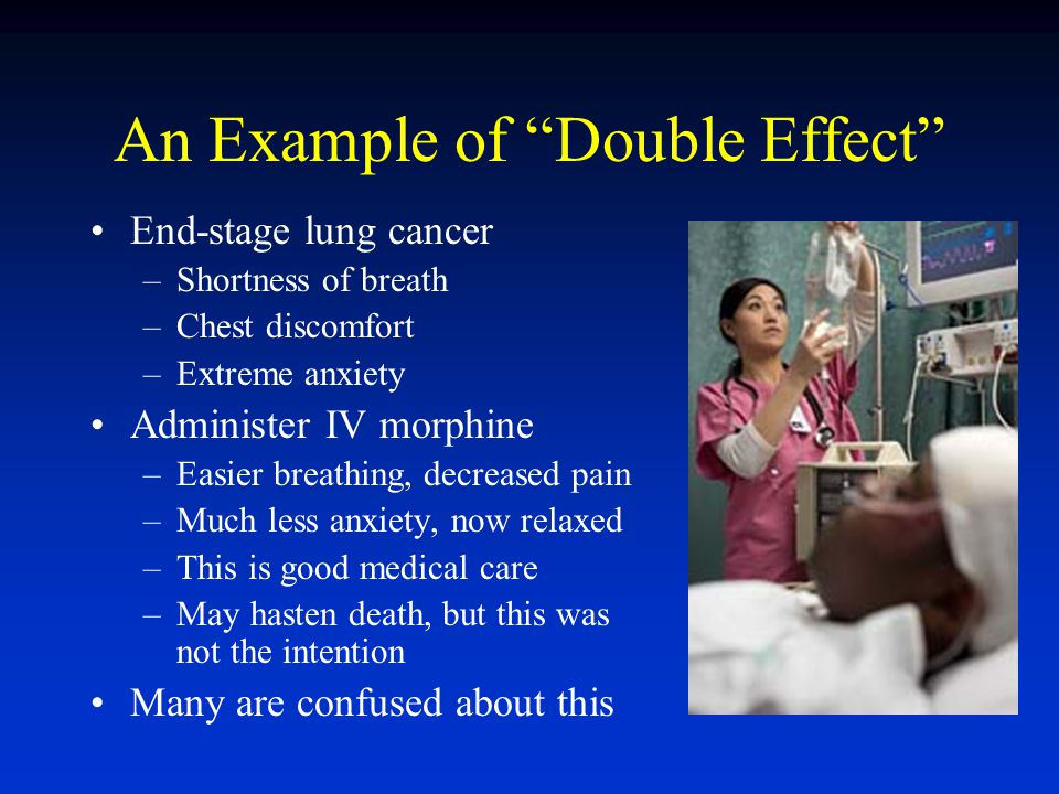 An Example of Double Effect