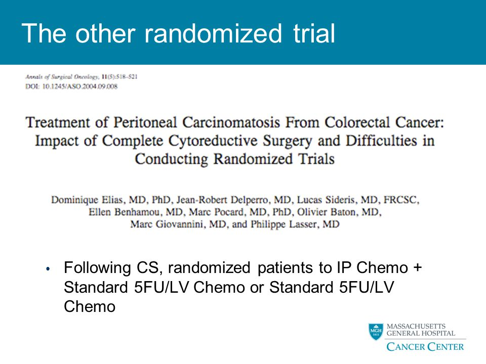 The other randomized trial