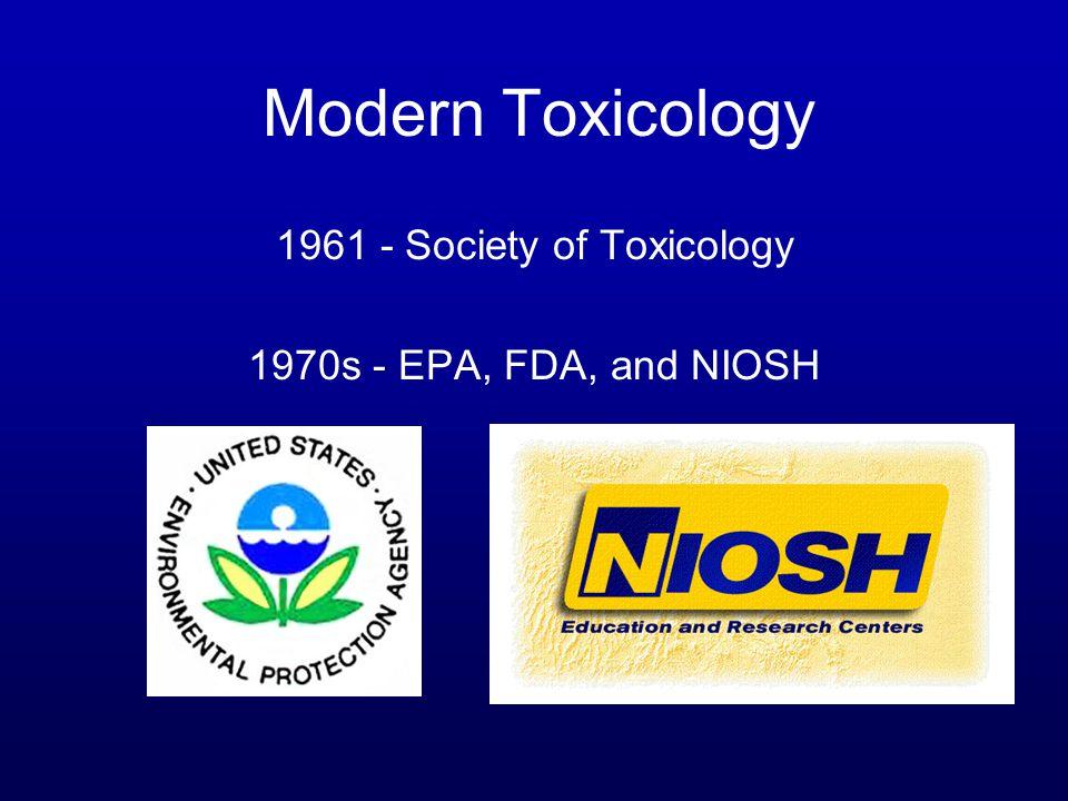 1961 - Society of Toxicology