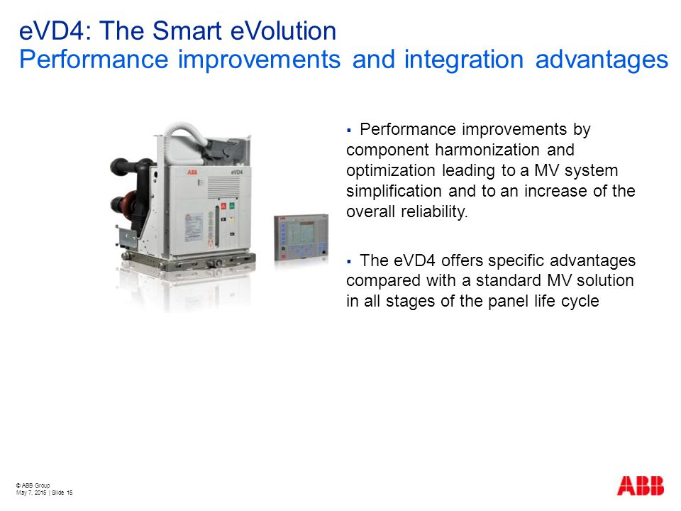 eVD4: The Smart eVolution Performance improvements and integration advantages