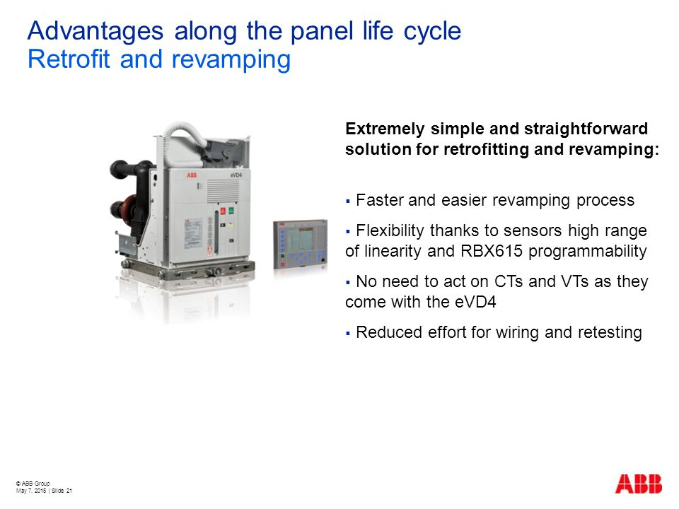 Advantages along the panel life cycle Retrofit and revamping