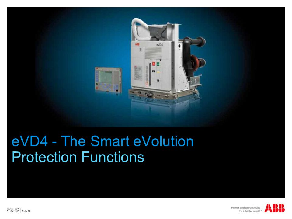 eVD4 - The Smart eVolution Protection Functions