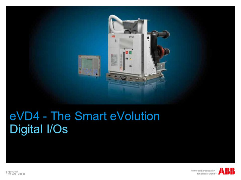 eVD4 - The Smart eVolution Digital I/Os