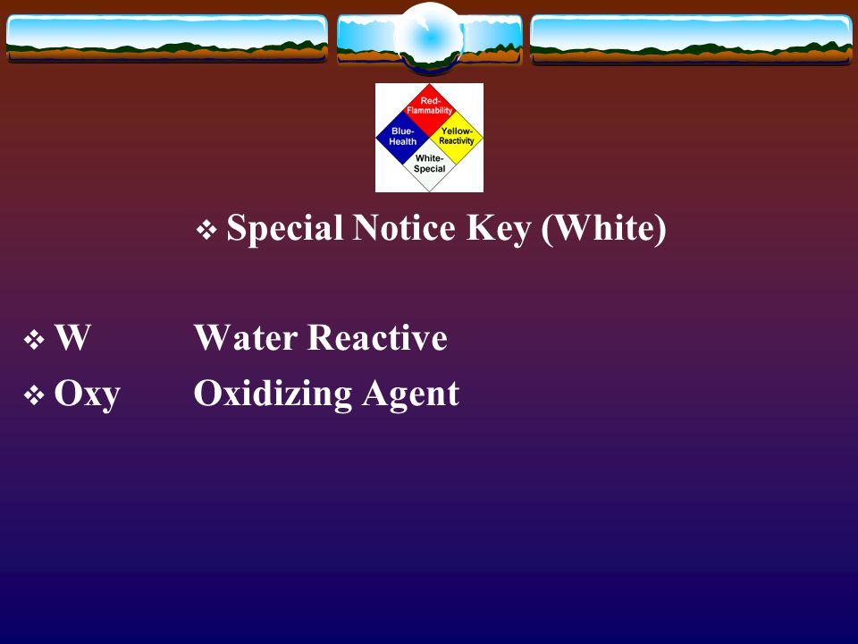 Special Notice Key (White)