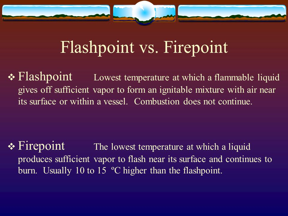 Flashpoint vs. Firepoint