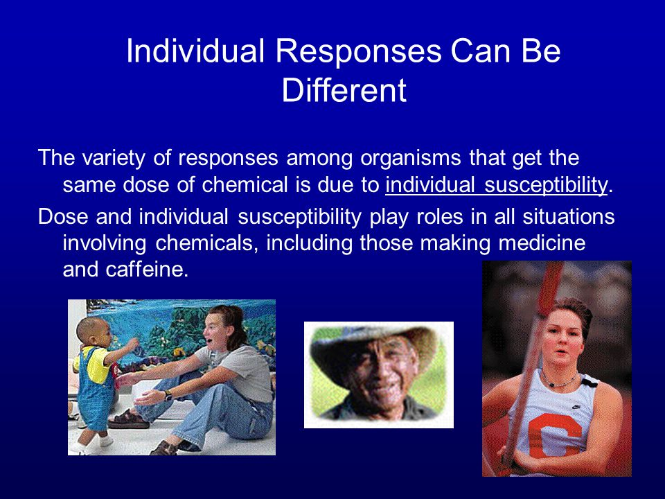 Individual Responses Can Be Different