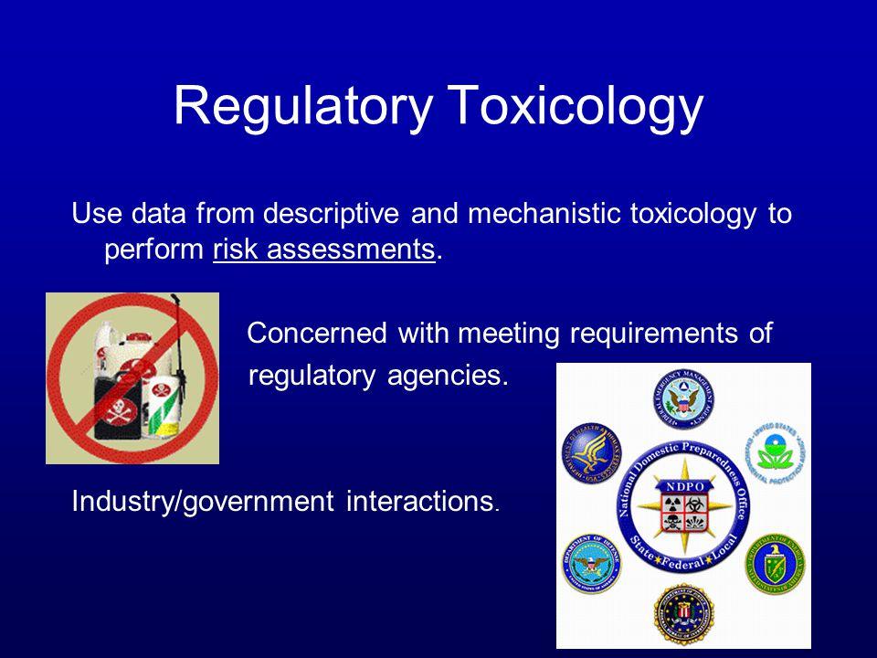 Regulatory Toxicology