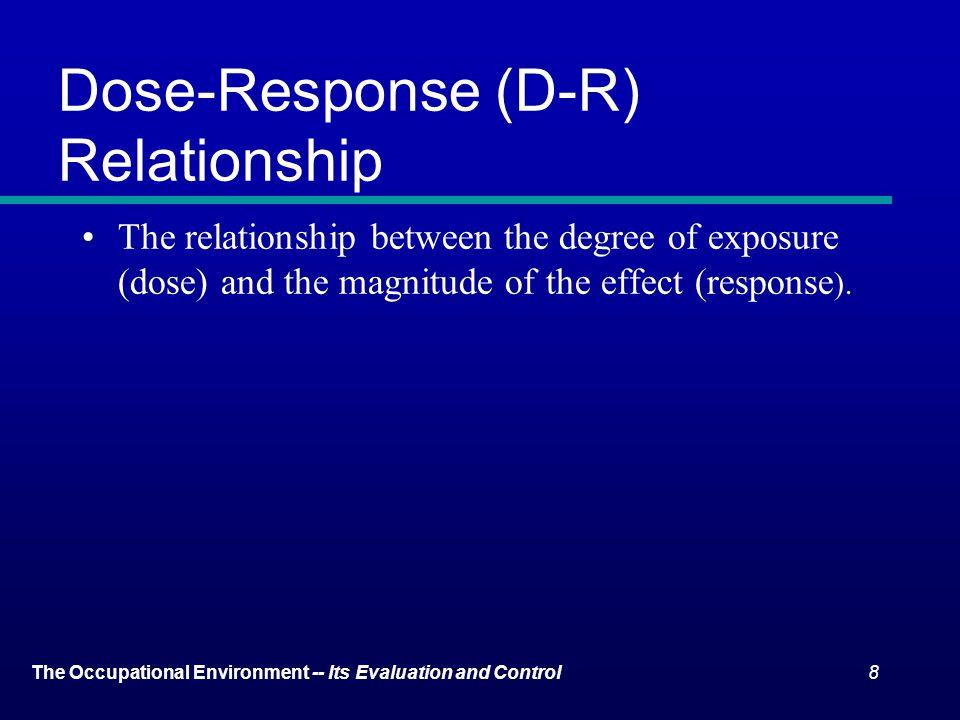 Dose-Response (D-R) Relationship