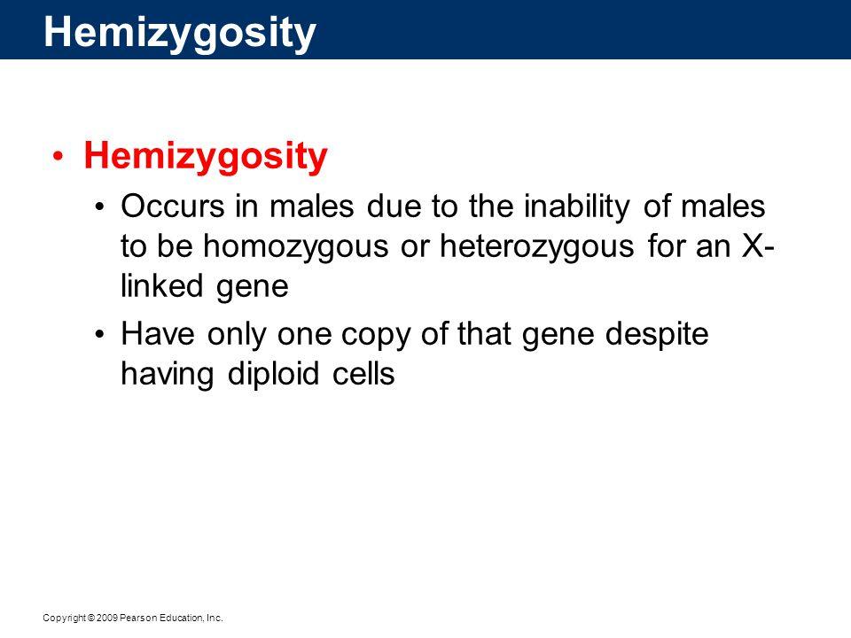 Hemizygosity Hemizygosity