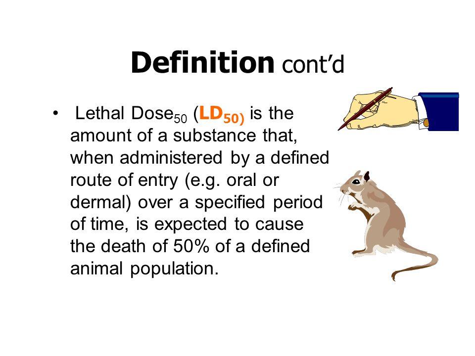 Definition cont'd