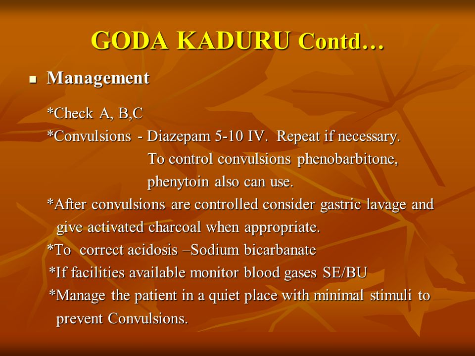 GODA KADURU Contd… Management *Check A, B,C