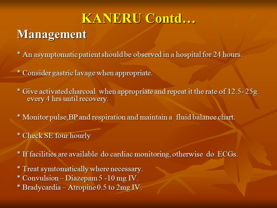 KANERU Contd… Management