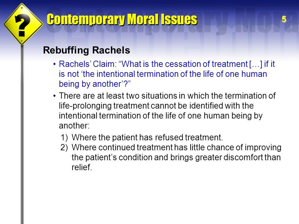 Rebuffing Rachels