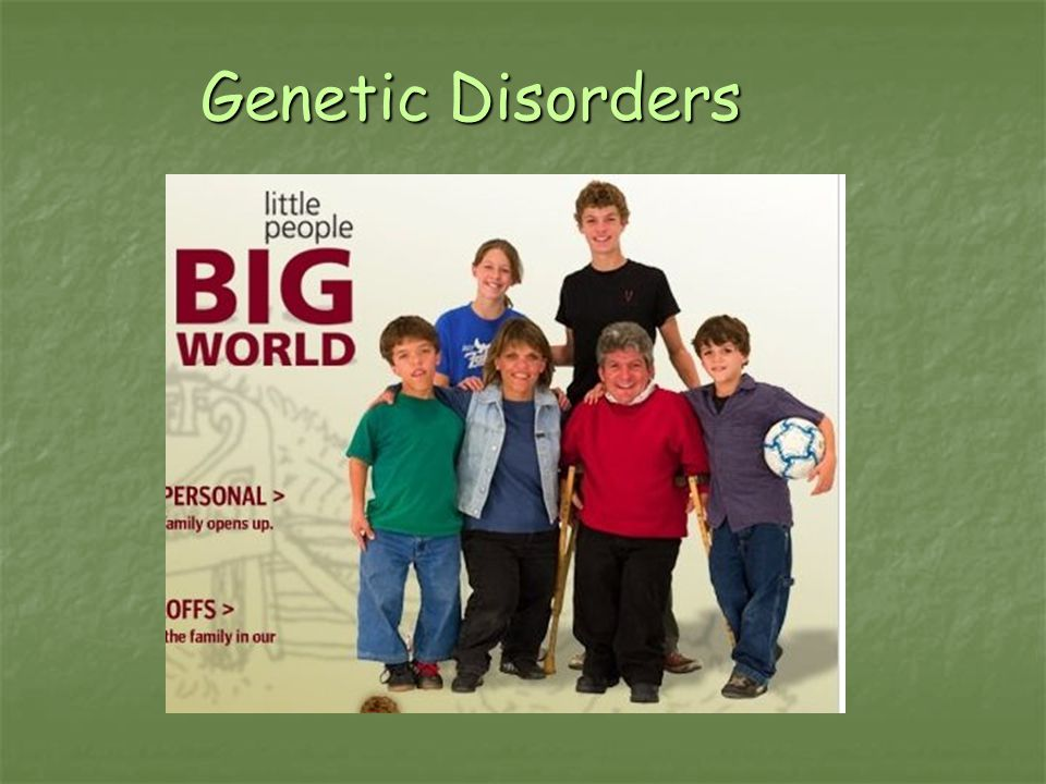 Genetic Disorders AP Biology