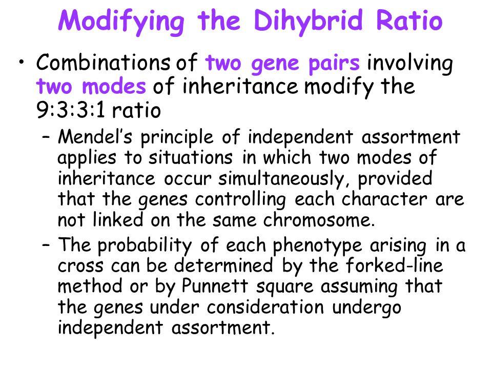Modifying the Dihybrid Ratio