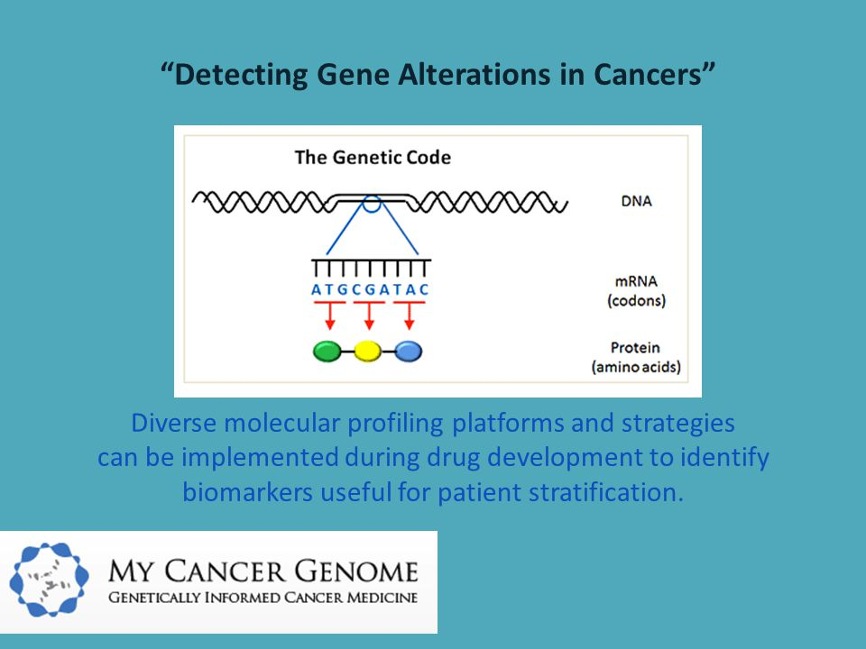 Detecting Gene Alterations in Cancers