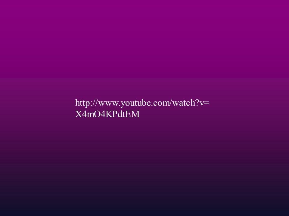 http://www.youtube.com/watch v=X4mO4KPdtEM