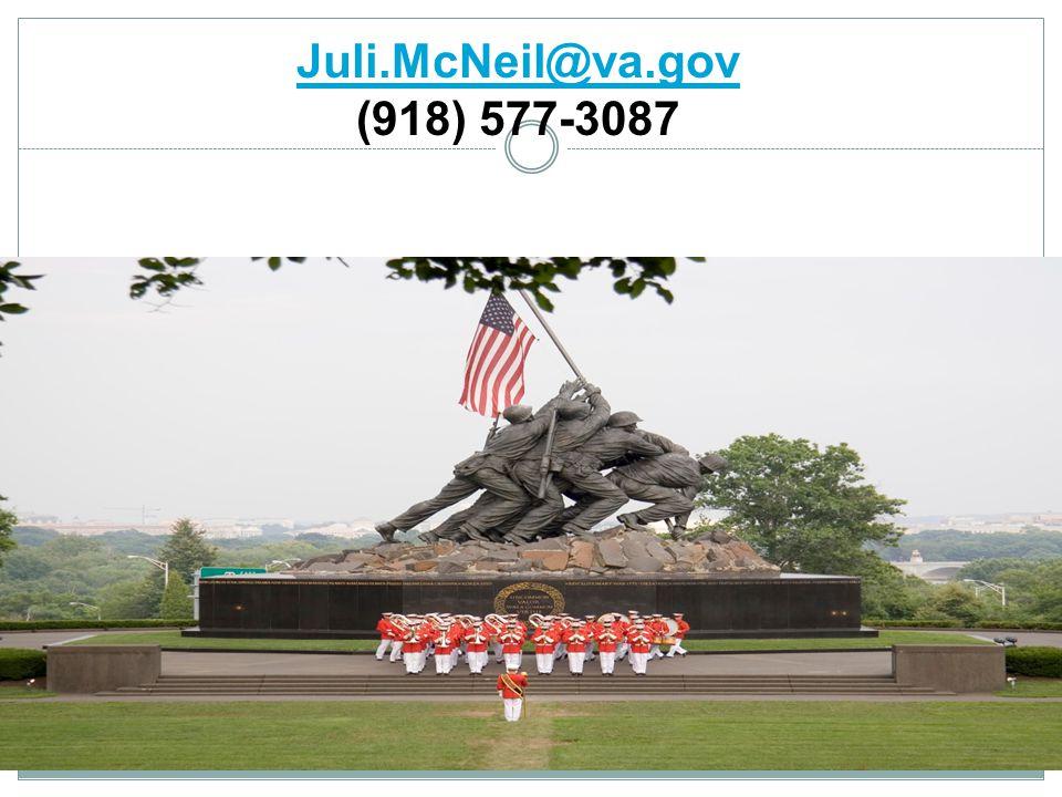 Juli.McNeil@va.gov (918) 577-3087 Questions…