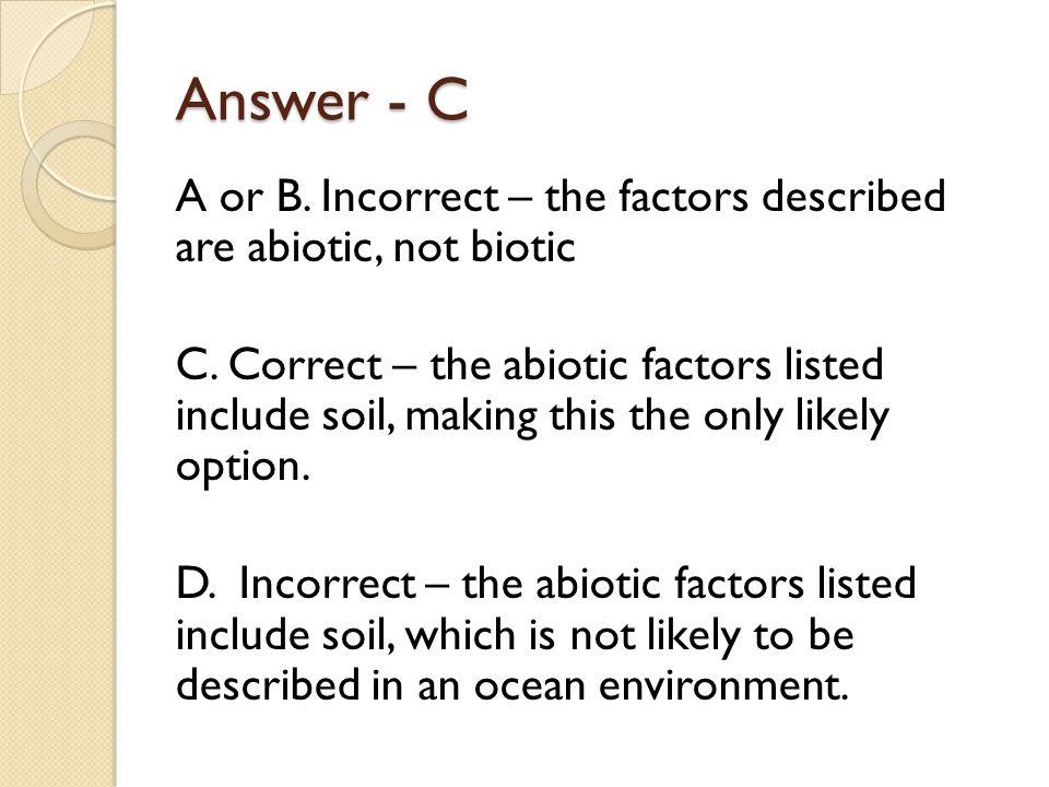 Answer - C