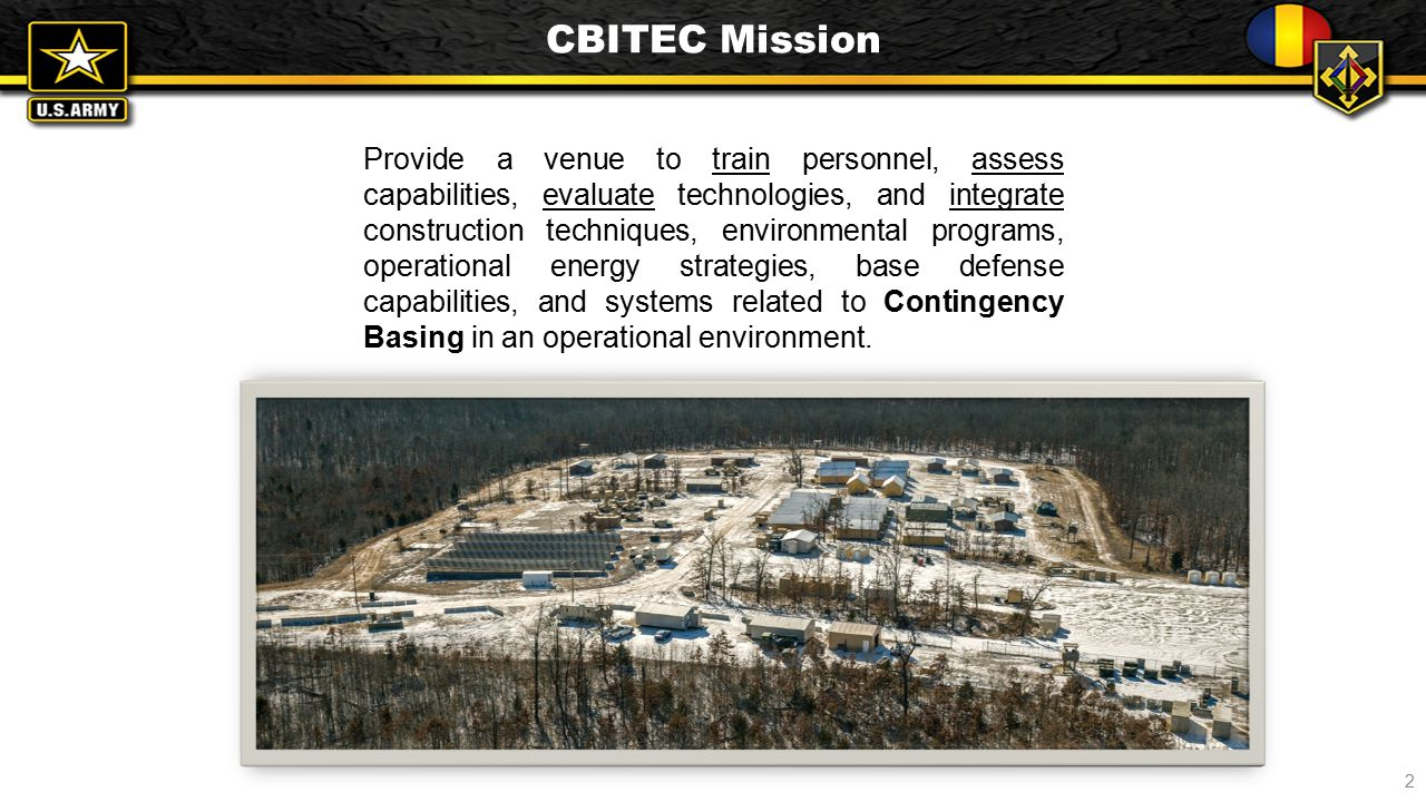 CBITEC Mission Statement