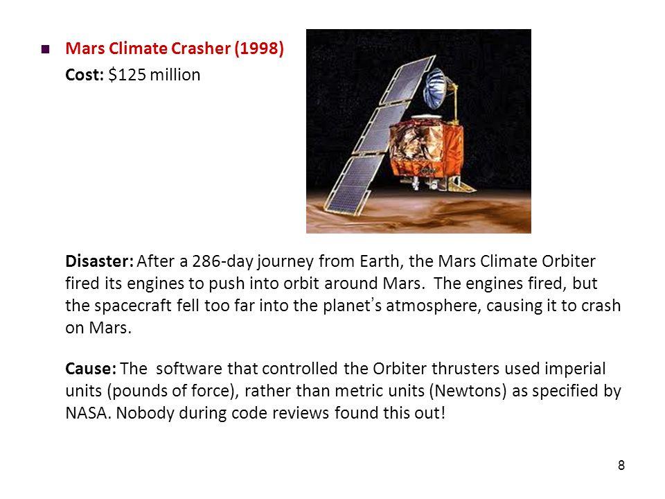 Y2K (1999) Cost: $500 billion.